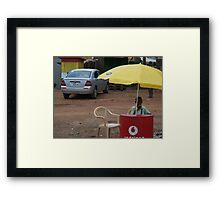 Need cell phone air-time?  Framed Print