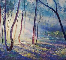 Ironbark Country Morning by Lynda Robinson