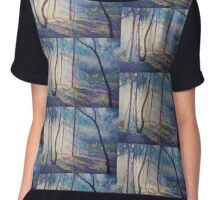 Ironbark Country Morning Chiffon Top