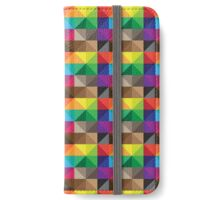 Color Blocks iPhone Wallet/Case/Skin