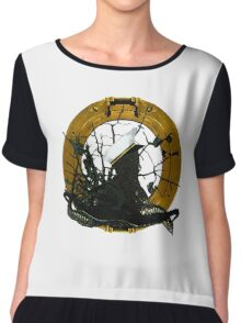 Looking Through A Porthole Of Memories Chiffon Top