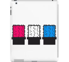 3 colorful many pattern design pixel nerd geek gamer videogame 2d 8 bit cactus design gamble games iPad Case/Skin