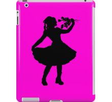 Oh Honey, You KNEW!! (Black Silhouette 2) iPad Case/Skin