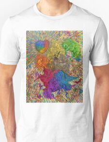 Wings Of Pride; Bow Of Freedom Drawing T-Shirt