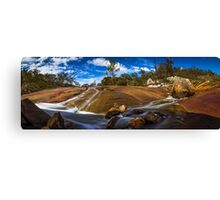 Rock Slides Canvas Print