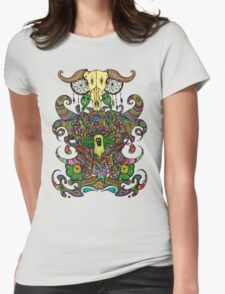 Poppy Seeds & Cannabis Womens Fitted T-Shirt