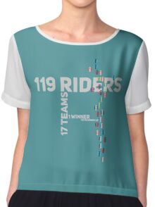 Cycling Race Chiffon Top