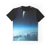 Earth and Clouds Graphic T-Shirt