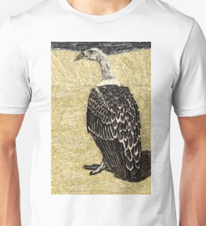Beware When The Vulture Turns His Back On You! Unisex T-Shirt