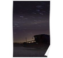 Combine Star Trails Poster