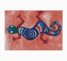 Swirly Lizard  Kids Tee
