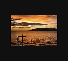 Golden Sunset with Broken Down Pier, Kota Kinabalu Unisex T-Shirt