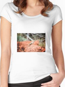 Desert Reptile Women's Fitted Scoop T-Shirt