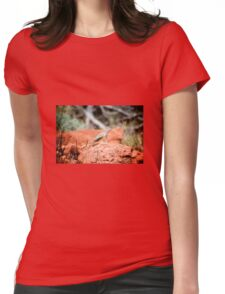 Desert Reptile Womens Fitted T-Shirt