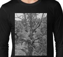 Black and White Juniper Long Sleeve T-Shirt