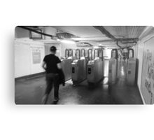 Paris Metro Metal Print
