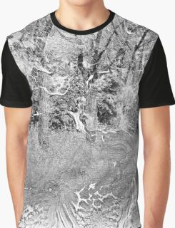 The Atlas of Dreams - Color Plate 24 b&w version Graphic T-Shirt