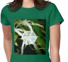 Spider lily Womens Fitted T-Shirt