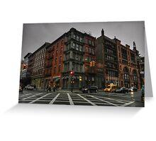 New York City - SoHo 006 Greeting Card