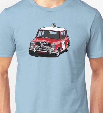 Fortitude's 'Paddy Hopkirk 37' Mini Cooper S Unisex T-Shirt
