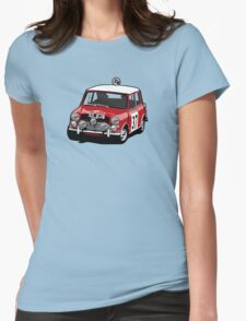 Fortitude's 'Paddy Hopkirk 37' Mini Cooper S Womens Fitted T-Shirt