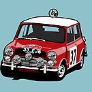 Fortitude's 'Paddy Hopkirk 37' Mini Cooper S by twainf