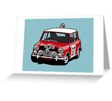 Fortitude's 'Paddy Hopkirk 37' Mini Cooper S Greeting Card
