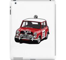 Fortitude's 'Paddy Hopkirk 37' Mini Cooper S iPad Case/Skin