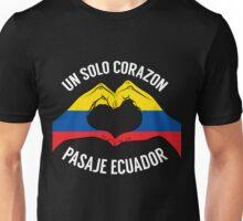 Ecuador - Un Solo Corazon2 Black Unisex T-Shirt