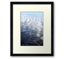 Cloud Over The Tundra, Manitoba. Framed Print