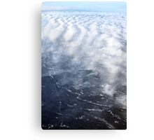 Cloud Over The Tundra, Manitoba. Canvas Print
