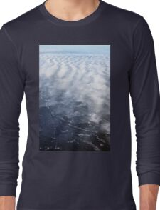 Cloud Over The Tundra, Manitoba. Long Sleeve T-Shirt