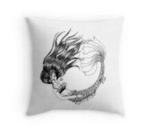 The Legendary Aquatic Creature Throw Pillow