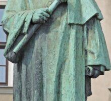 Statue of Josef Dietl, Wawel Hill, Poland Sticker