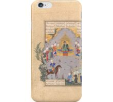 Gushtasp Proves His Archery before Caesar, iPhone Case/Skin