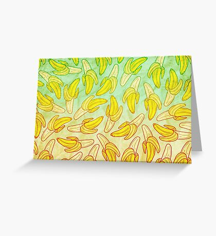 BANANA - RAINBOW by Kohii Love & Toso Journ Greeting Card