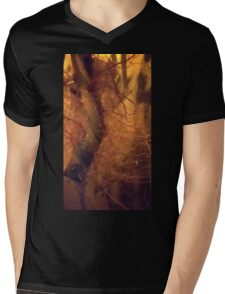 Twisting  Mens V-Neck T-Shirt