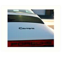 Porsche 911 Carrera Art Print