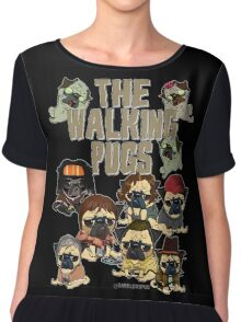 The Walking Pugs Chiffon Top