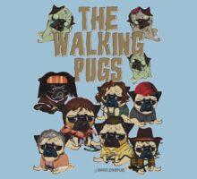 The Walking Pugs Kids Tee