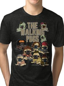 The Walking Pugs Tri-blend T-Shirt