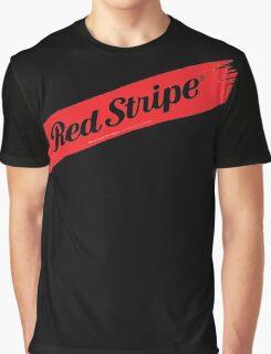 Red Stripe Jamaican  Graphic T-Shirt