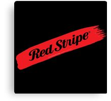 Red Stripe Jamaican  Canvas Print