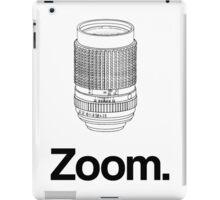 Zoom lens iPad Case/Skin