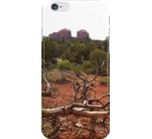Red Rocks and Junipers iPhone Case/Skin