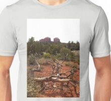 Red Rocks and Junipers Unisex T-Shirt