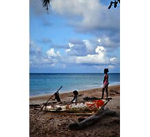 Dominican Republic- childhood Photographic Print