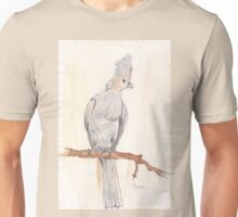 Grey Loerie in my garden Unisex T-Shirt