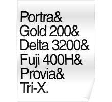 Helvetica Film Stock Poster