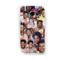 Leslie Jones collage Samsung Galaxy Case/Skin